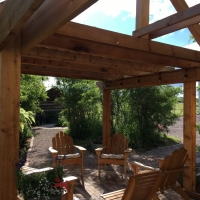 1725 Pergola Over Seating Area
