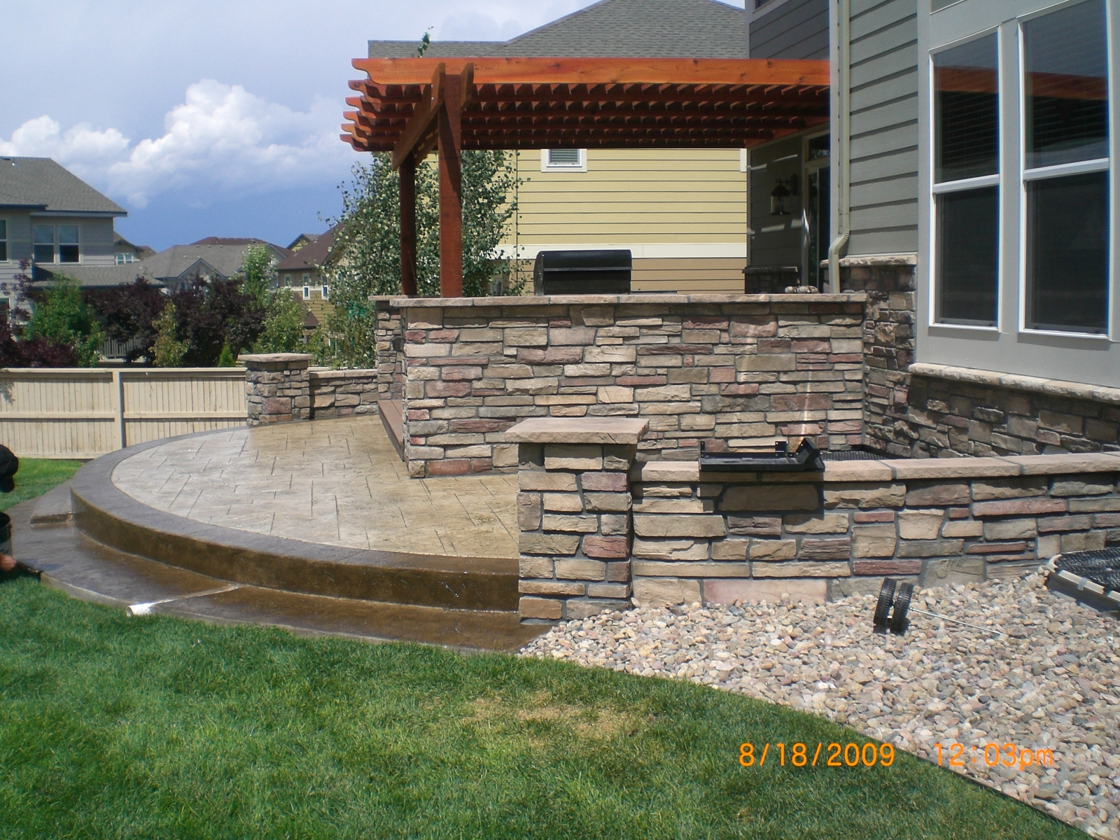 Landscaping gallery the outsiders landscaping design for Kitchen design specialists colorado springs