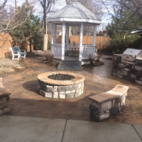 1603C - Hospice House Firepit Grill